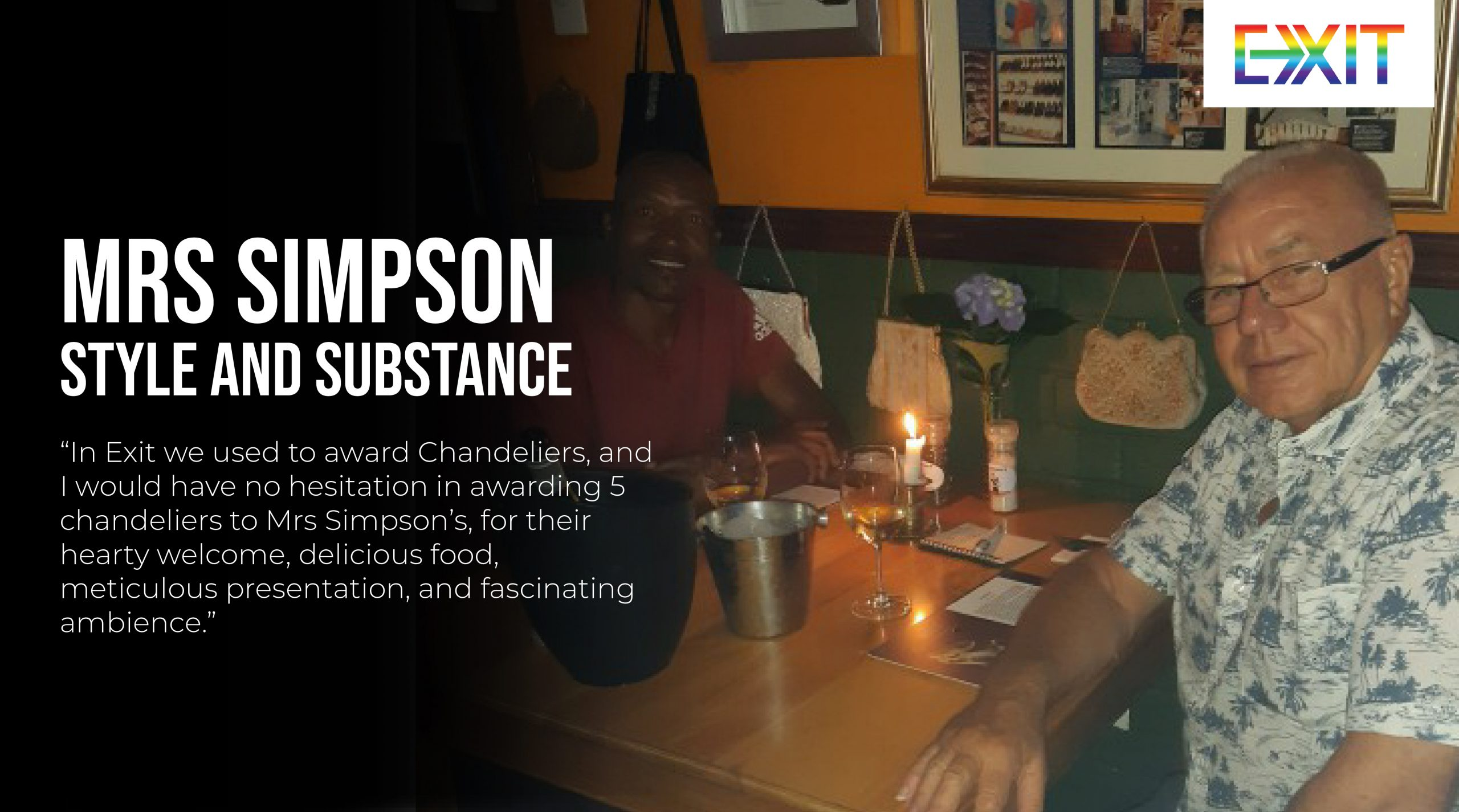 MRS SIMPSON – STYLE AND SUBSTANCE