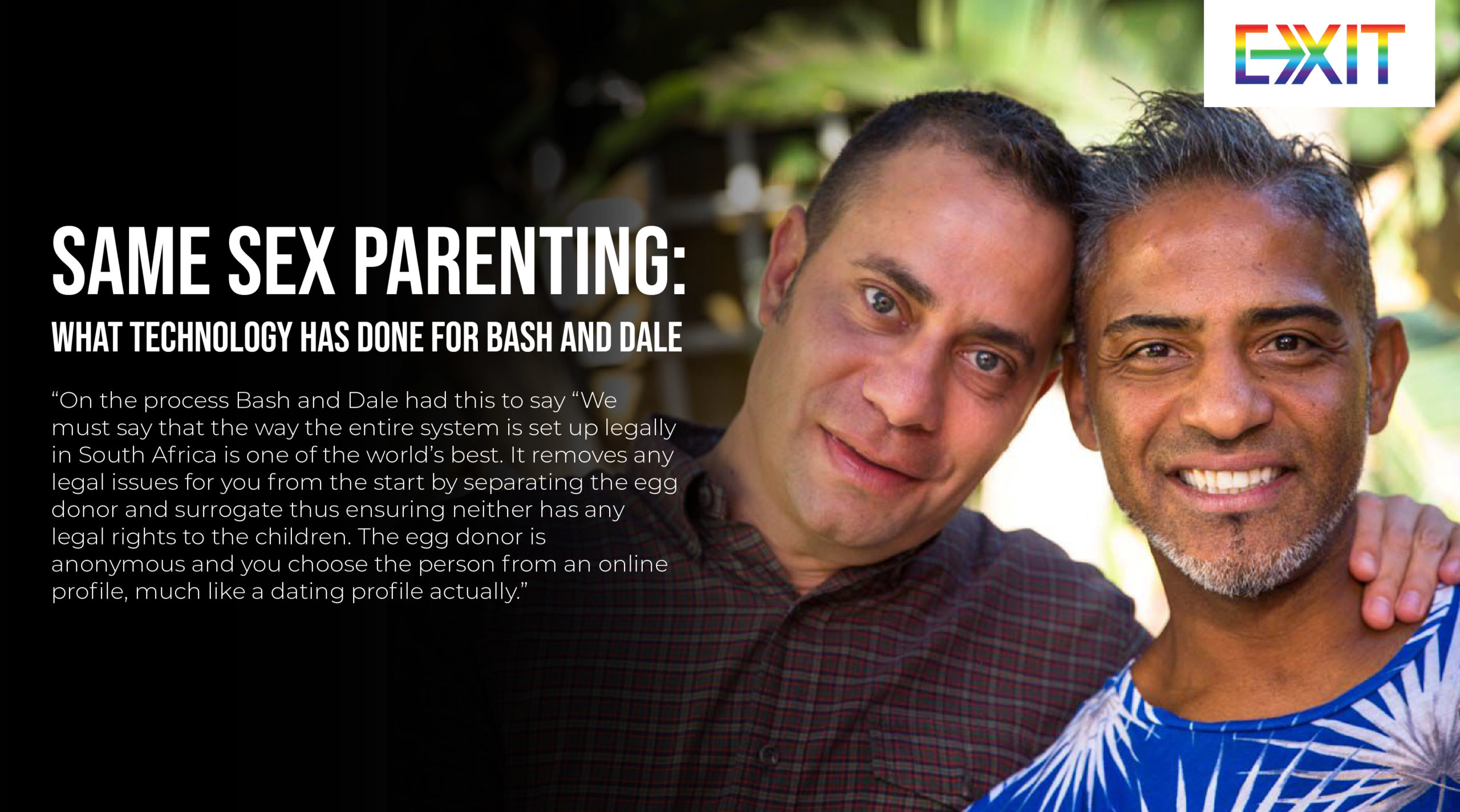 SAME SEX PARENTING