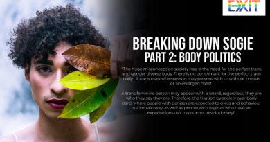 BREAKING DOWN SOGIE – PART 2:Body Politics