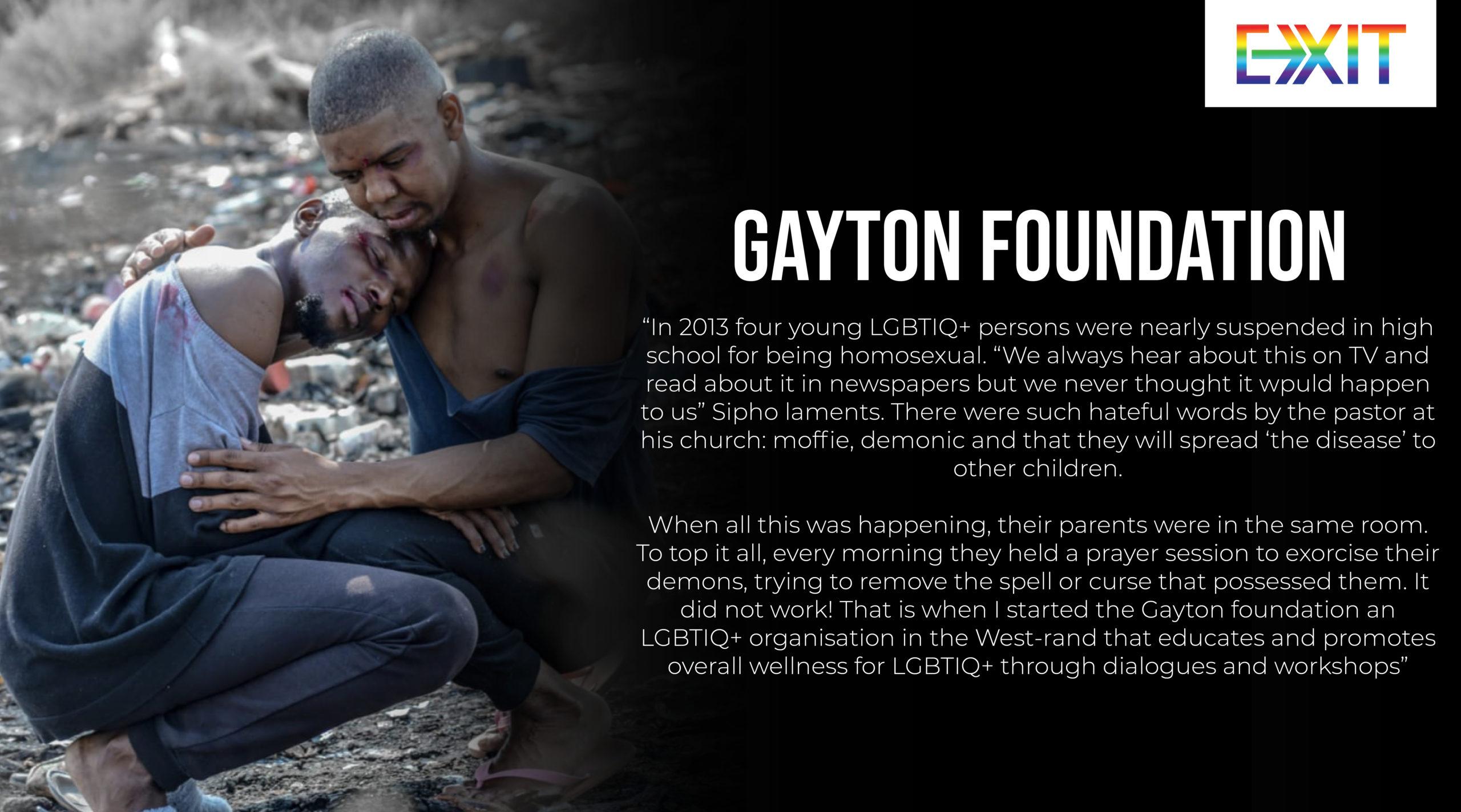THE GAYTON FOUNDATION