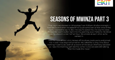 SEASON OF MWINZA PART THREE – BACK IN FORMATION